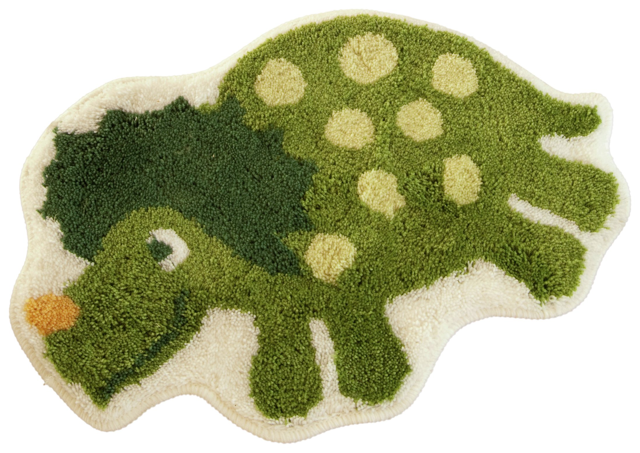 Image of Dino Rug - 40x60cm - Multi
