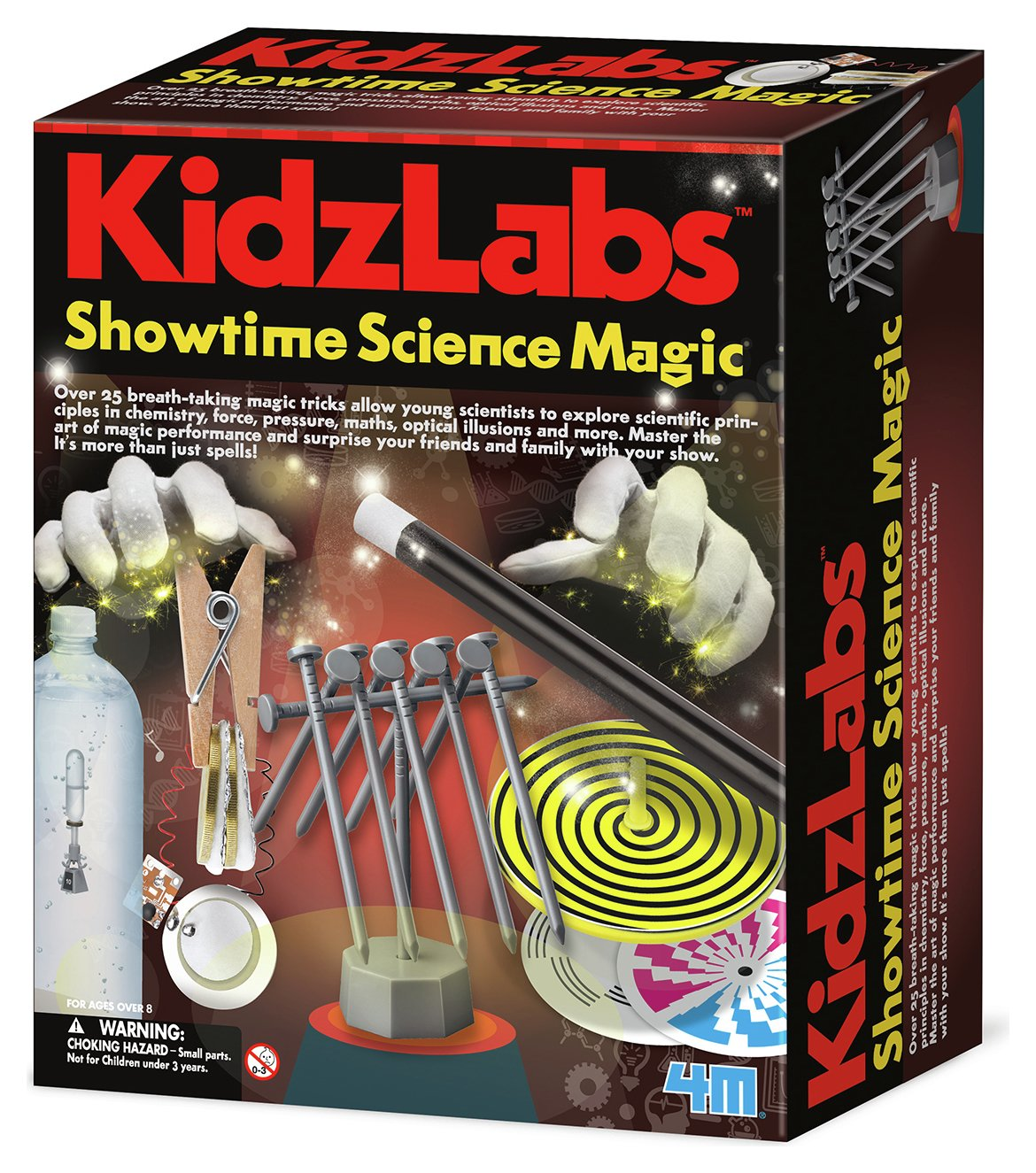 Image of 4M Kidz Labs Showtime Science Magic