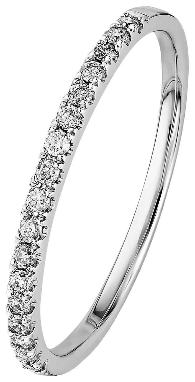 Buy Revere 9ct White Gold 0 15ct tw Diamond Eternity Ring at Argos
