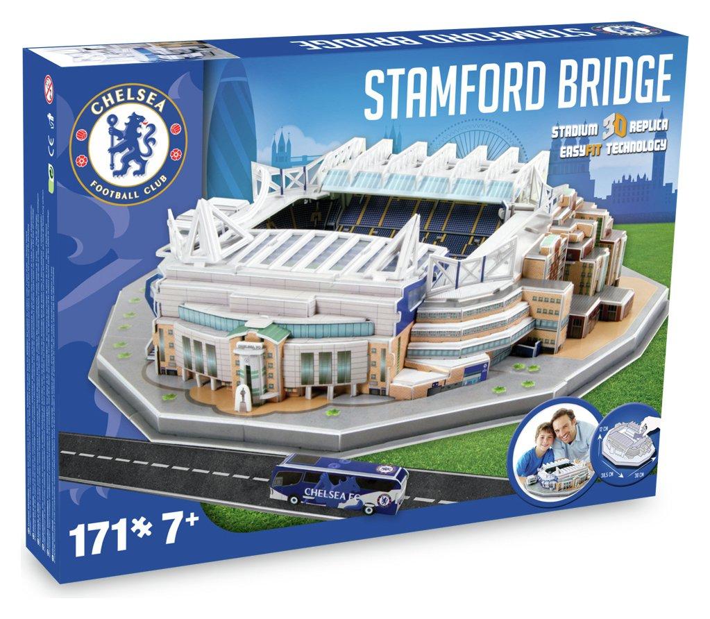 Chelsea Stadium - 3D Stadium Puzzle.