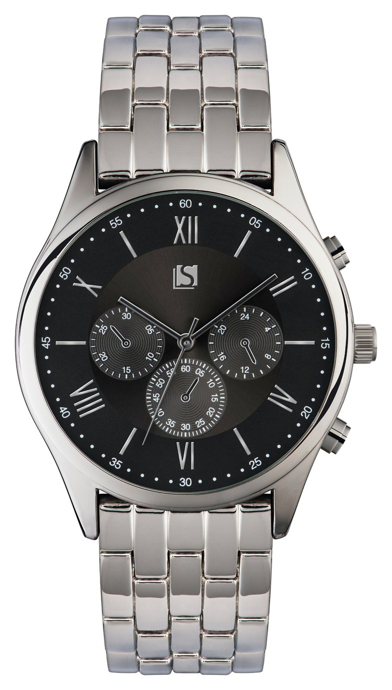 Spirit Men's Silver Stainless Steel Bracelet Watch