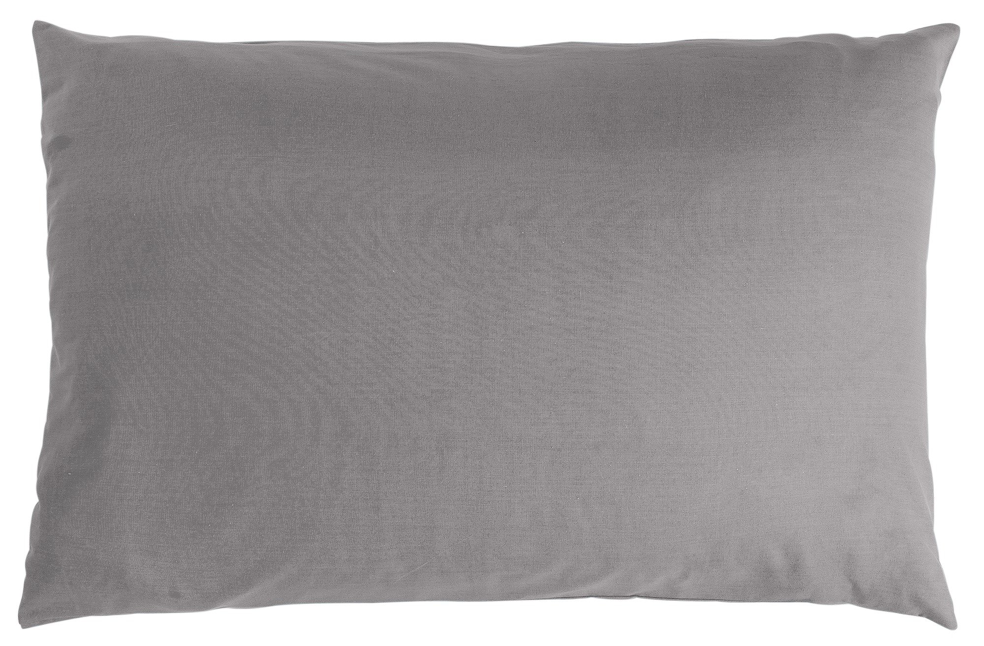 colourmatch pair of housewife pillowcases  flint grey