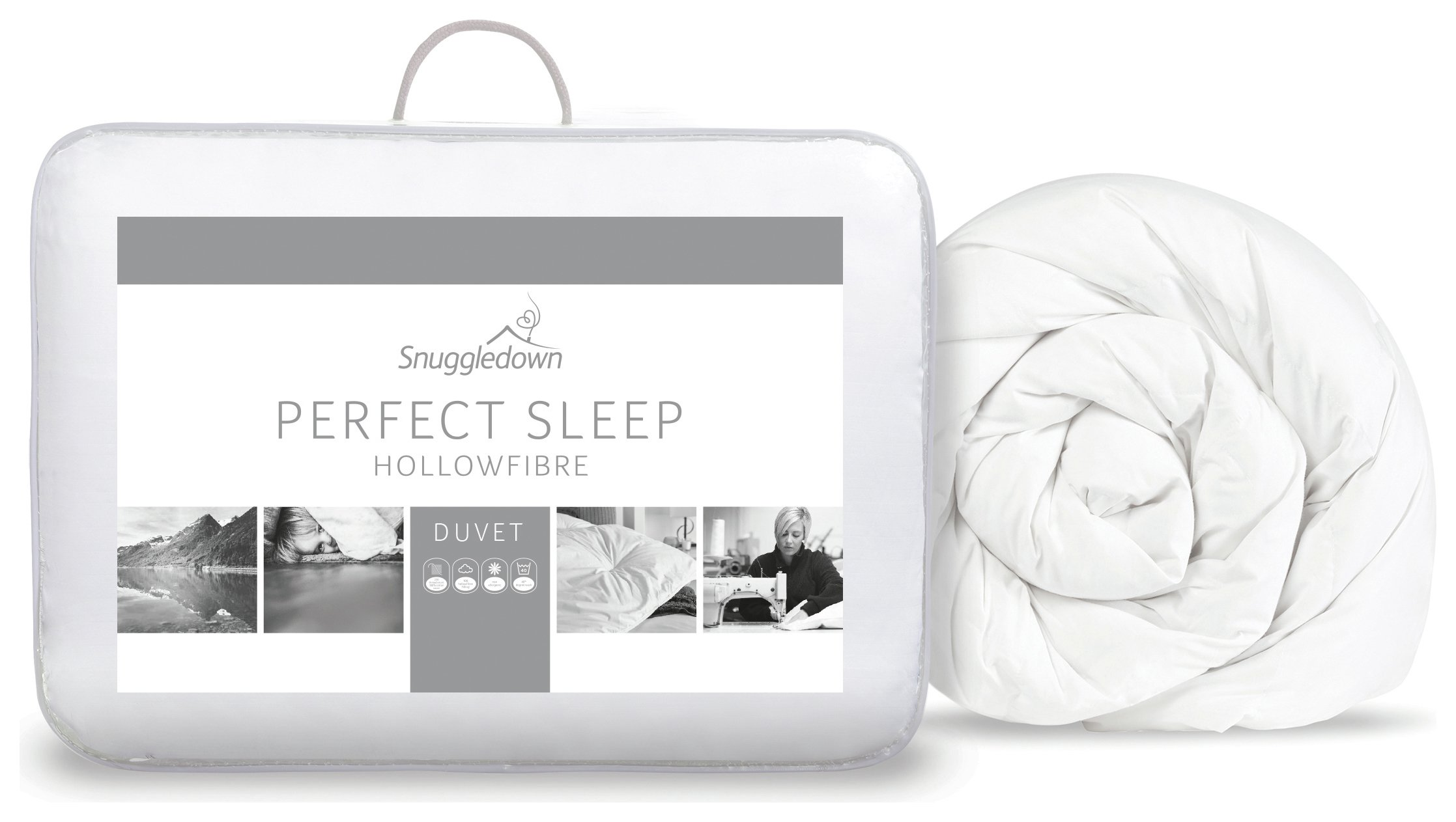 snuggledown perfect sleep 10.5 tog duvet  double