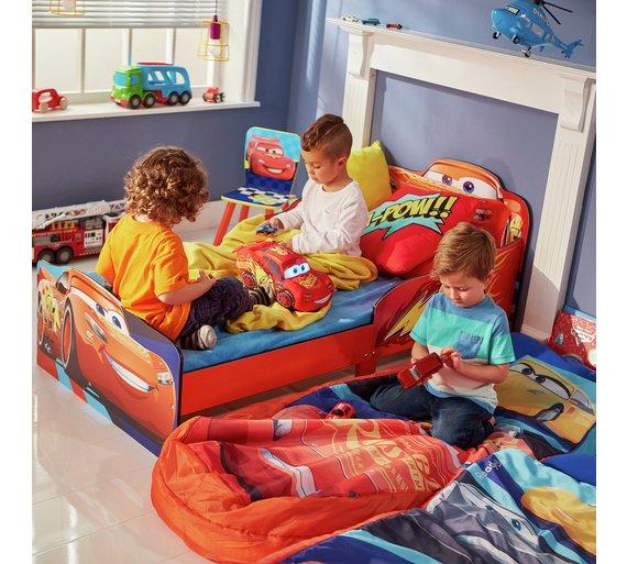 Disney Cars Junior ReadyBed Kids Airbed And Sleeping Bag