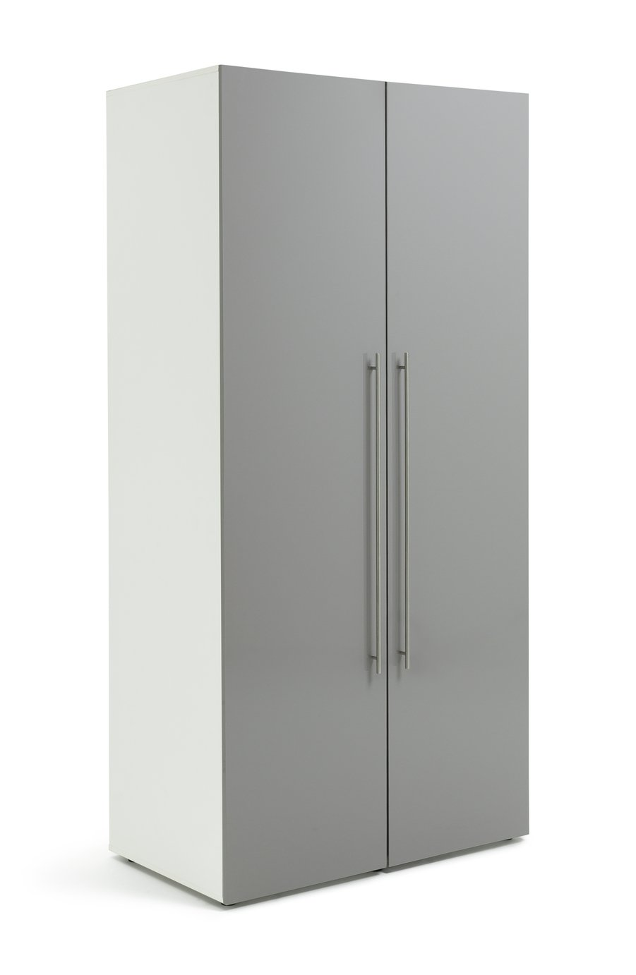 Argos Home Atlas 2 Door Tall Gloss Wardrobe