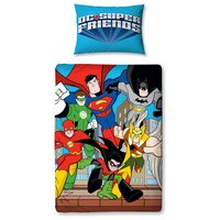 DC Super Friends Buddies - Duvet Cover Set - Toddler