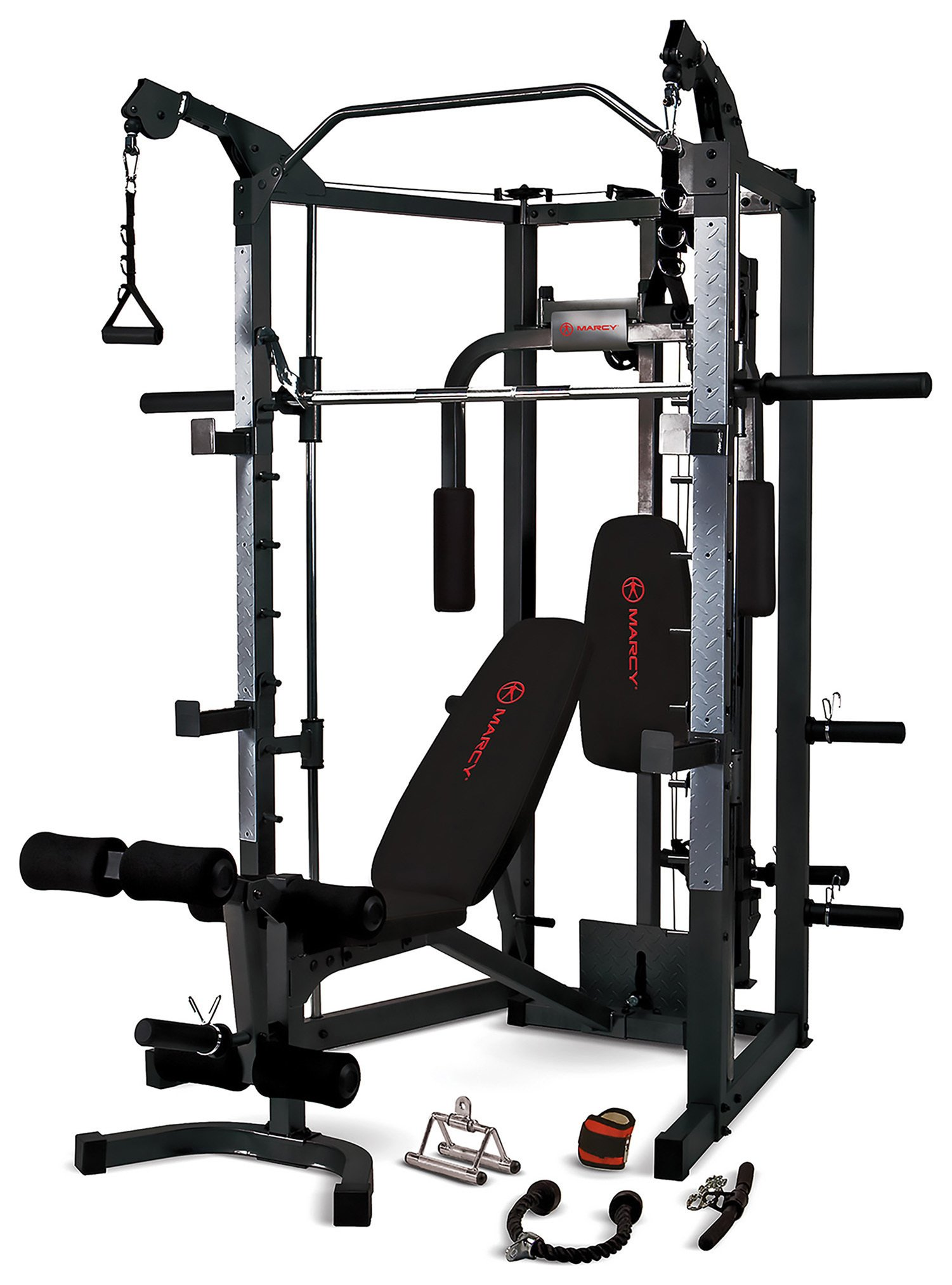 'Marcy Rs7000 Deluxe Smith Machine Home Multi Gym.