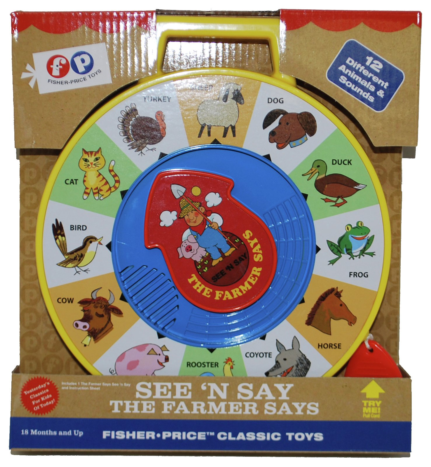 Image of Fisher-Price - Classics Seen N Say Farmer Says