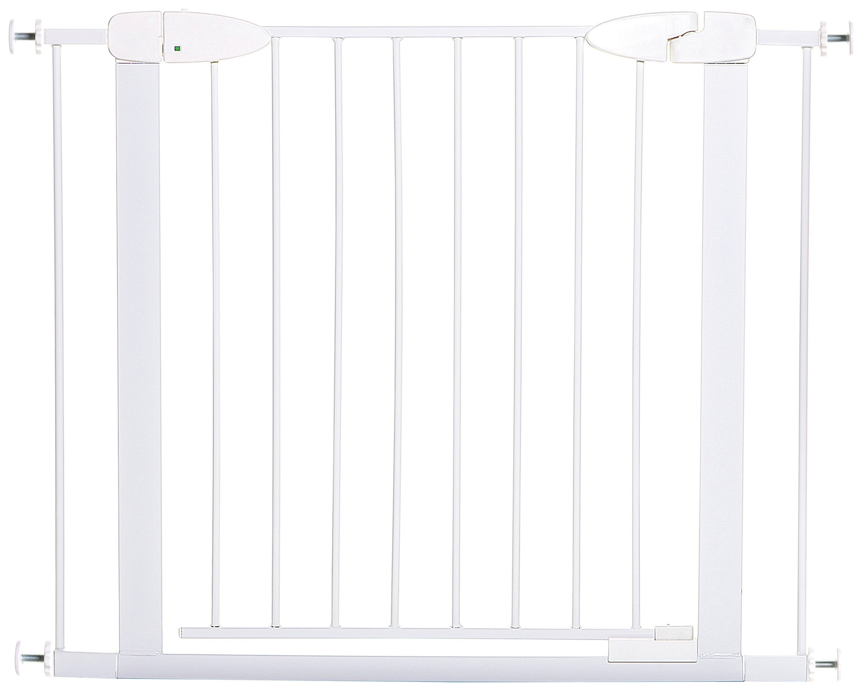 Dreambaby - Boston Safety Gate With Extensions - White