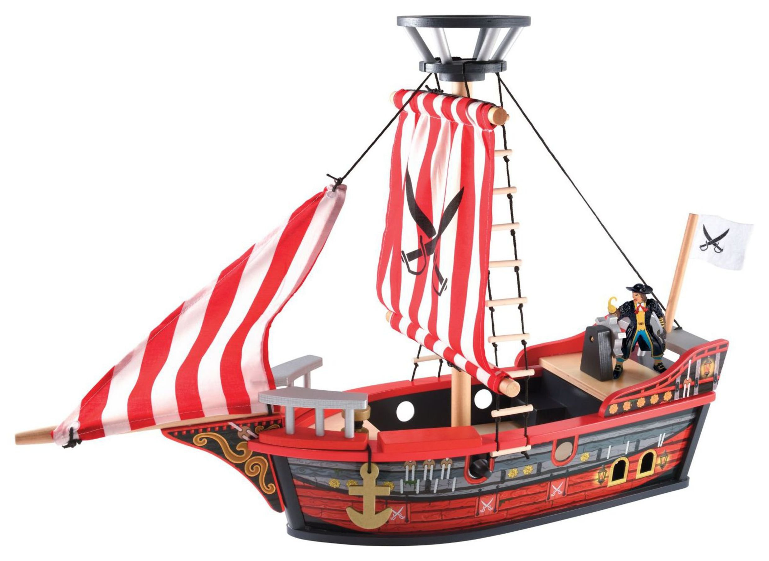 ELC Wooden Pirate Ship.