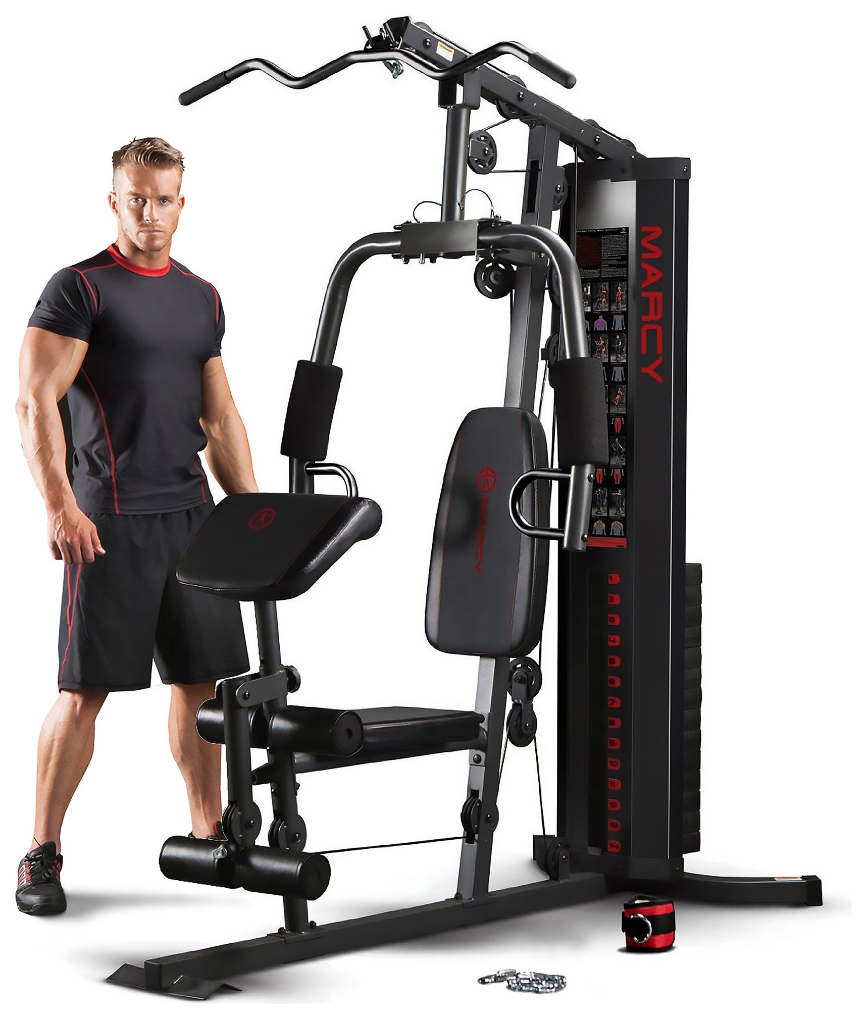 Marcy eclipse hg compact home gym argos
