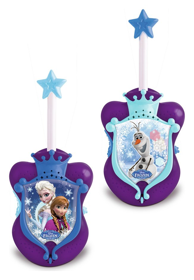 Disney Frozen Walkie Talkies.