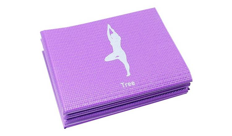 Opti Printed 5mm Thickness Yoga Exercise Mat
