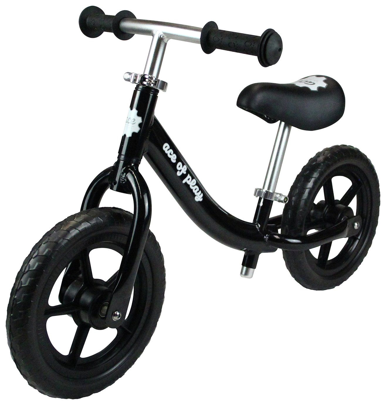 Image of Ace of Play Balance Bike - Black.