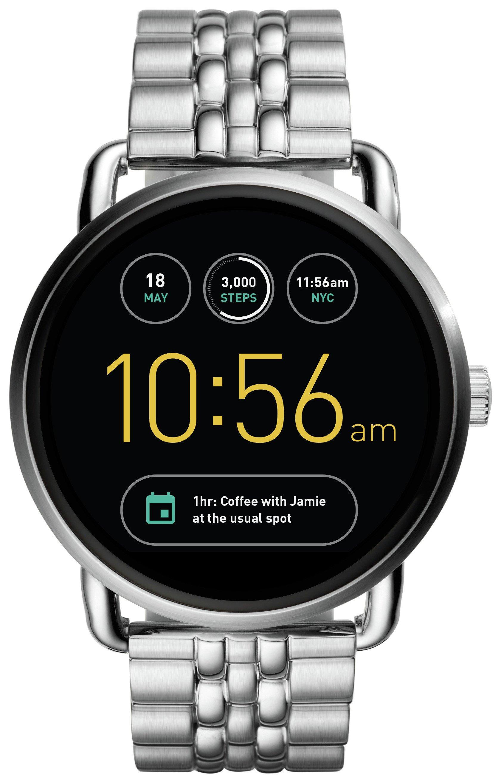 Image of Fossil - Q Wander Steel Bracelet Smart - Watch