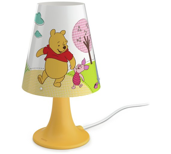 Buy philips disney winnie the pooh table lamp kids lighting argos philips disney winnie the pooh table lamp mozeypictures Images