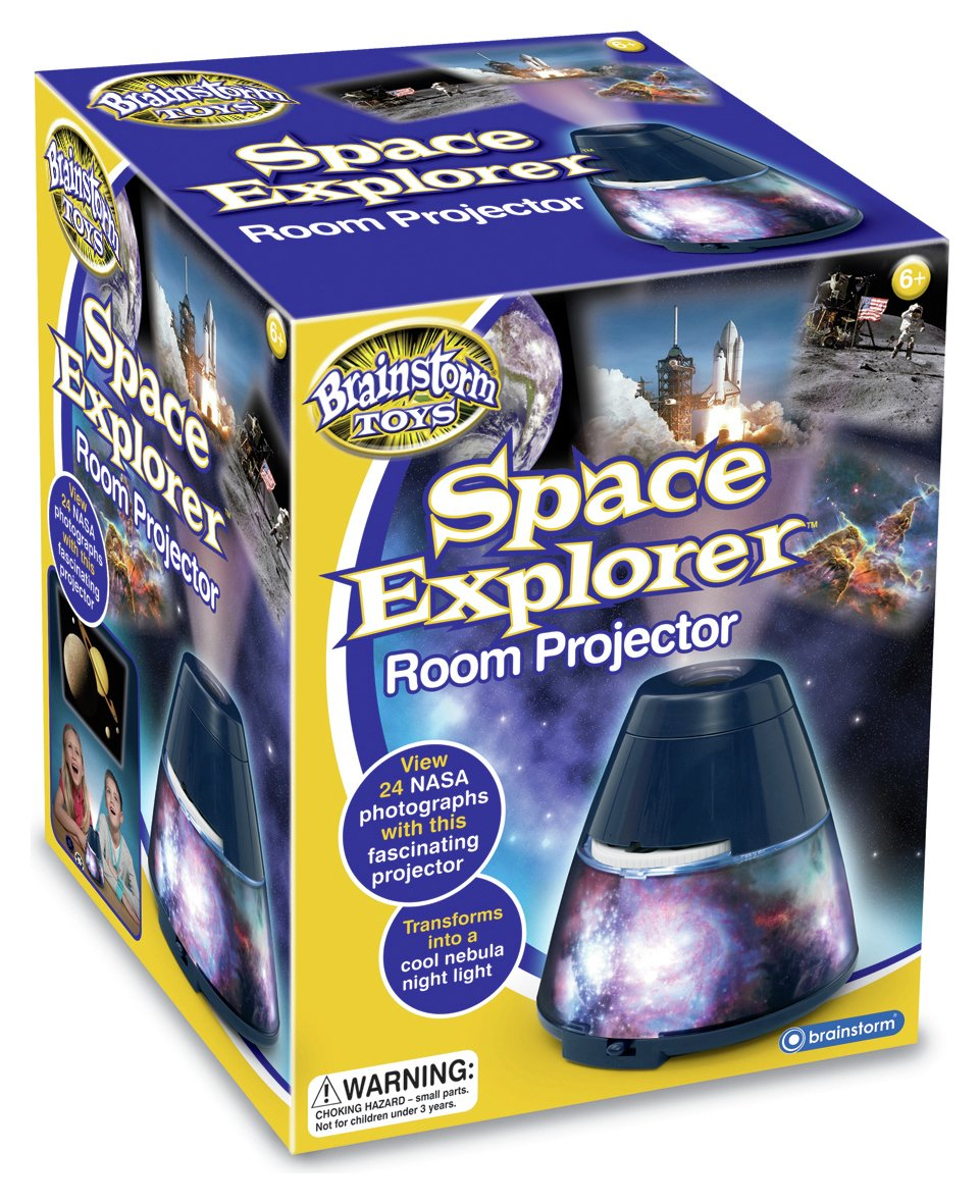 Image of Brainstorm Toys Space Explorer Room Projector.