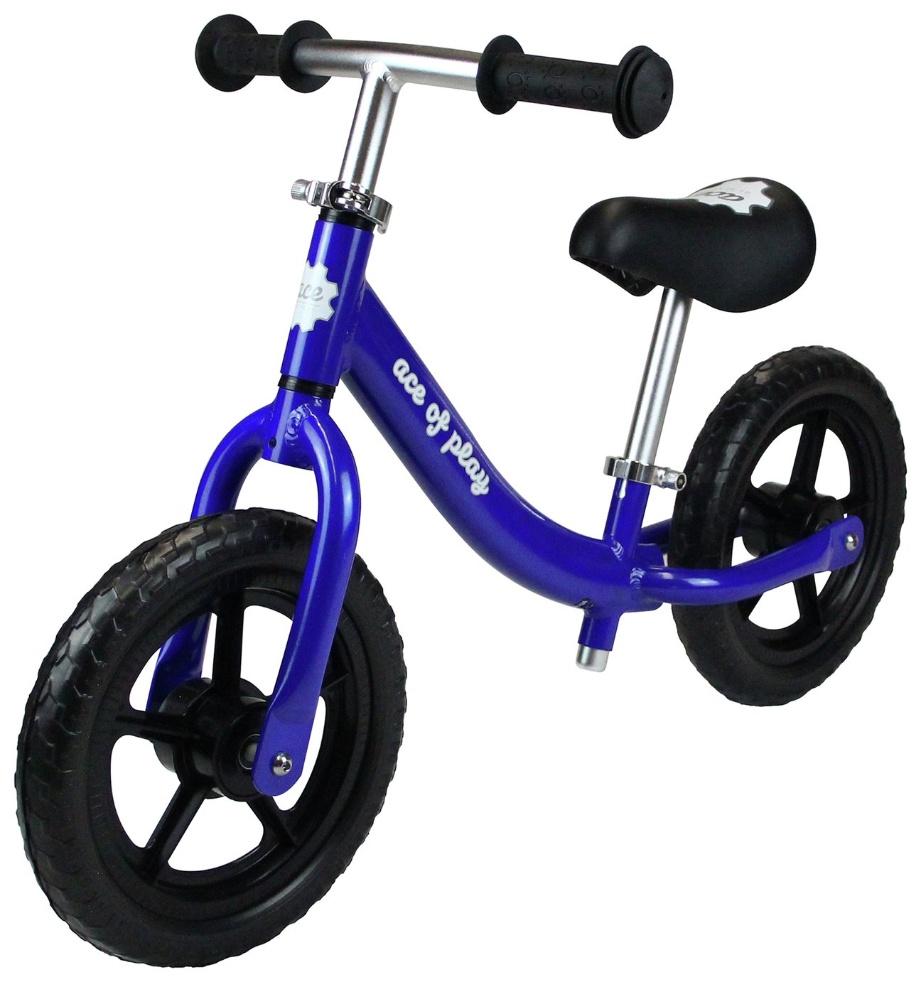 Image of Ace of Play Balance Bike - Blue.