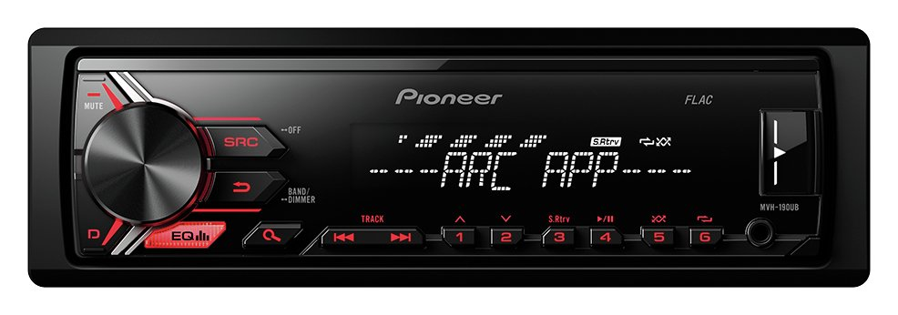 Pioneer Pioneer MVH-190UB FM/AM USB AUX Car Stereo.