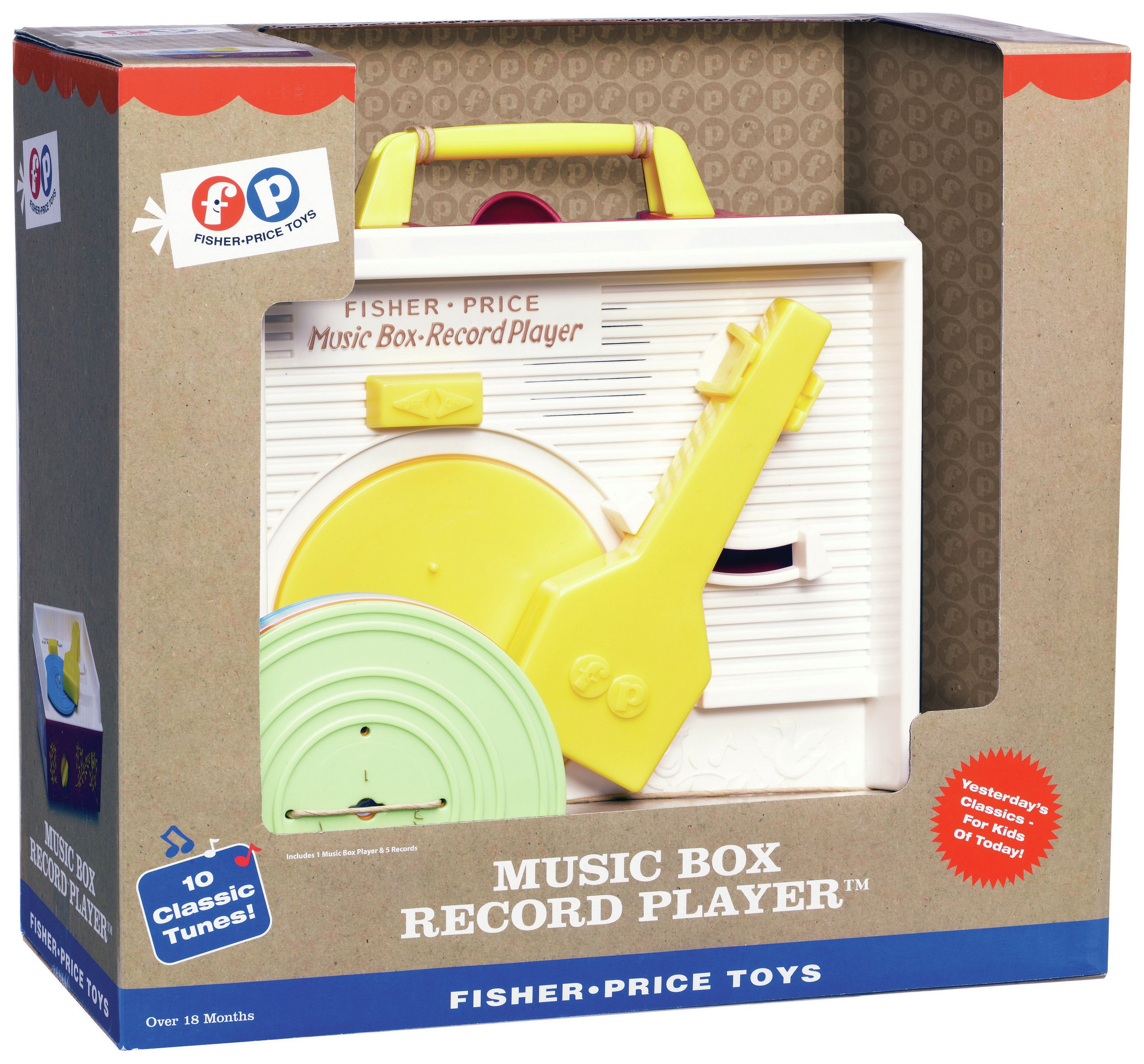 Image of Fisher-Price - Record Player