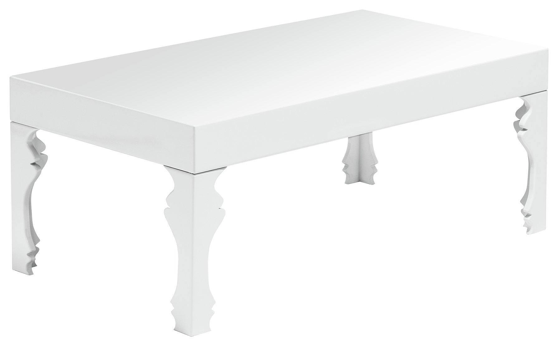 Price Search Results For Premier Housewares Luis Coffee Table White Gloss