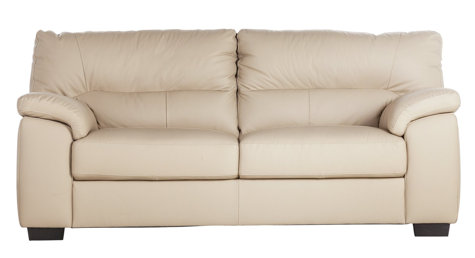 Collection - Piacenza 3 Seater - Leather Sofa - Taupe