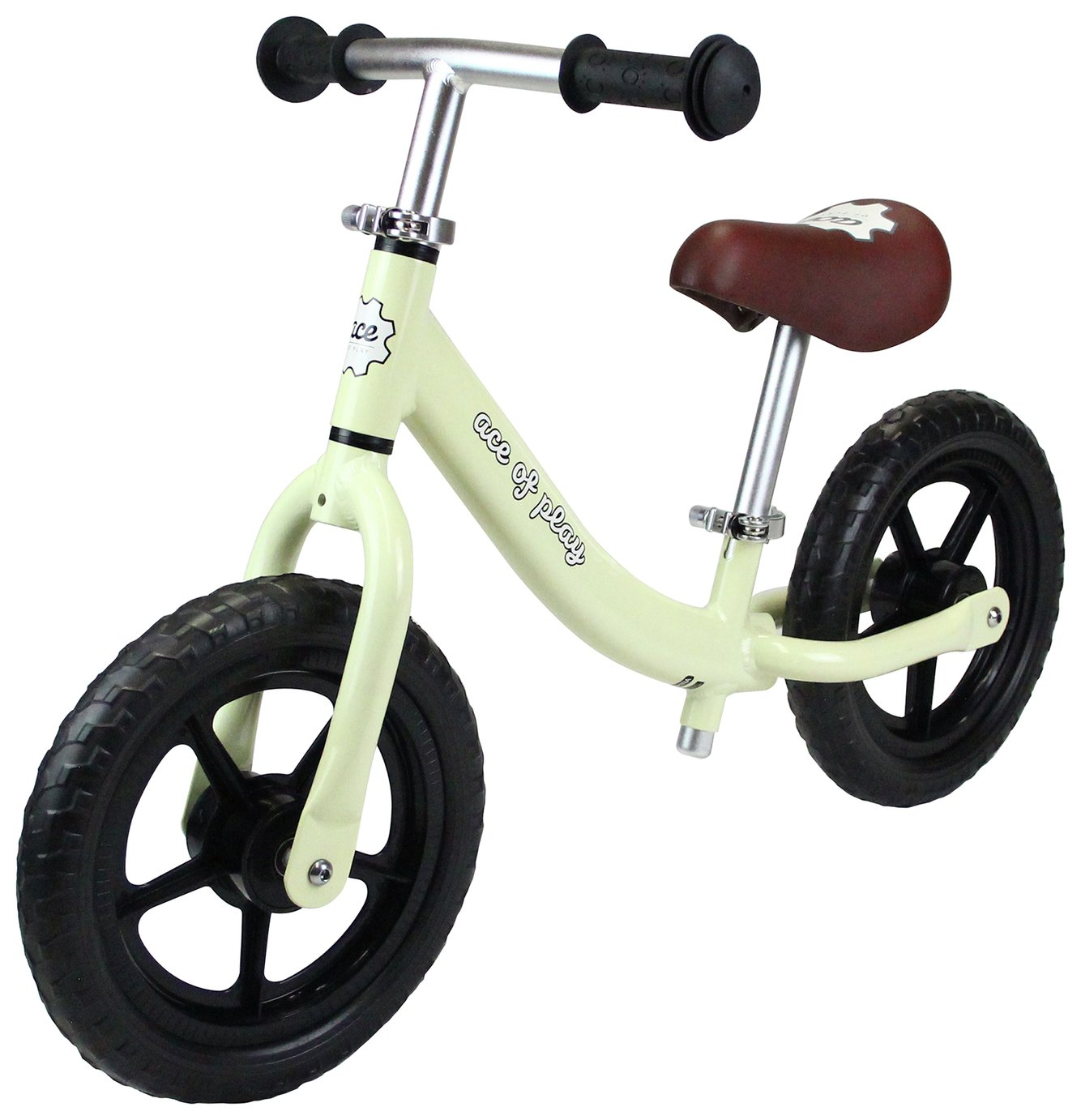 Image of Ace of Play Balance Bike - Vanilla.