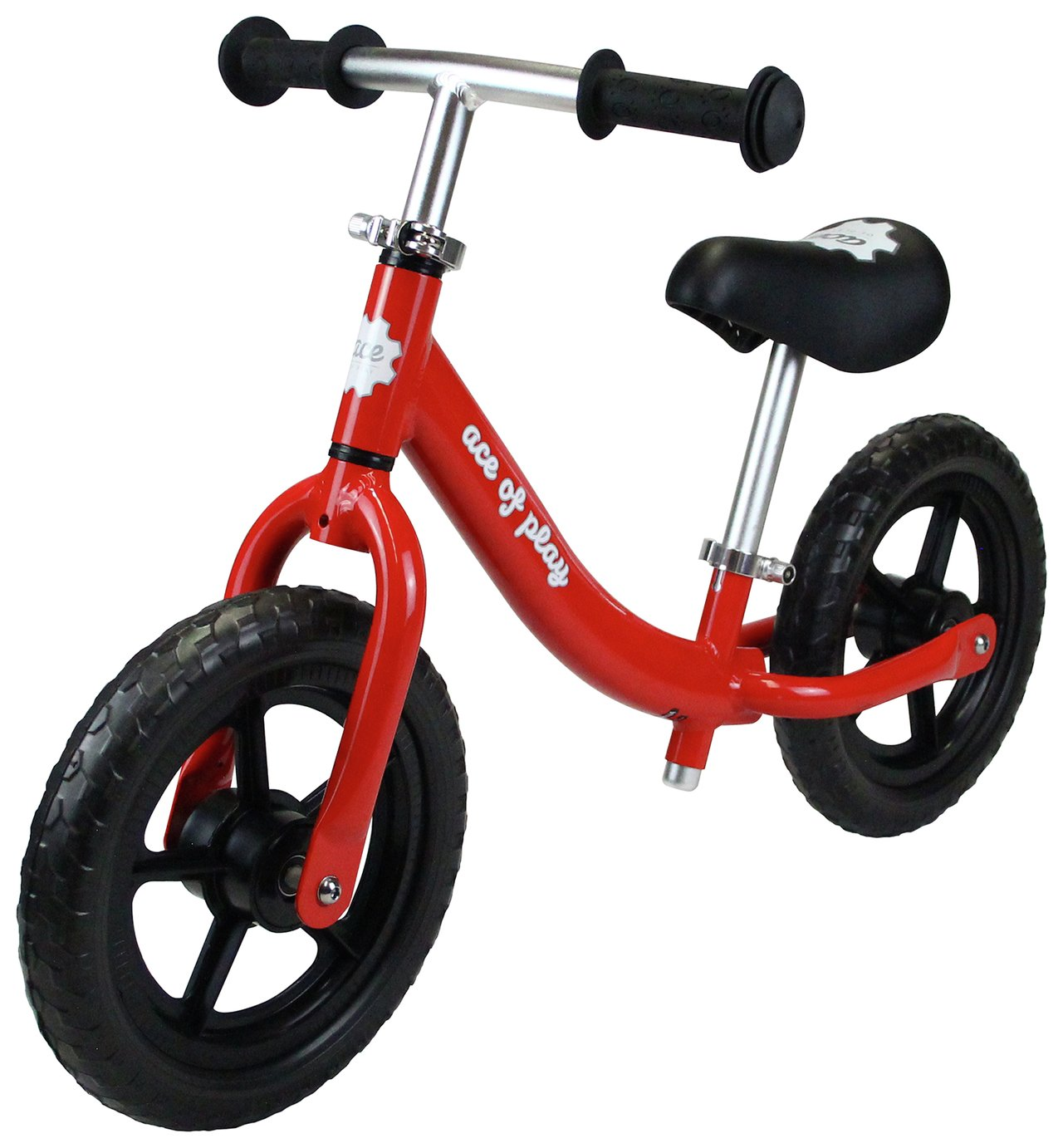 Image of Ace of Play Balance Bike - Red.