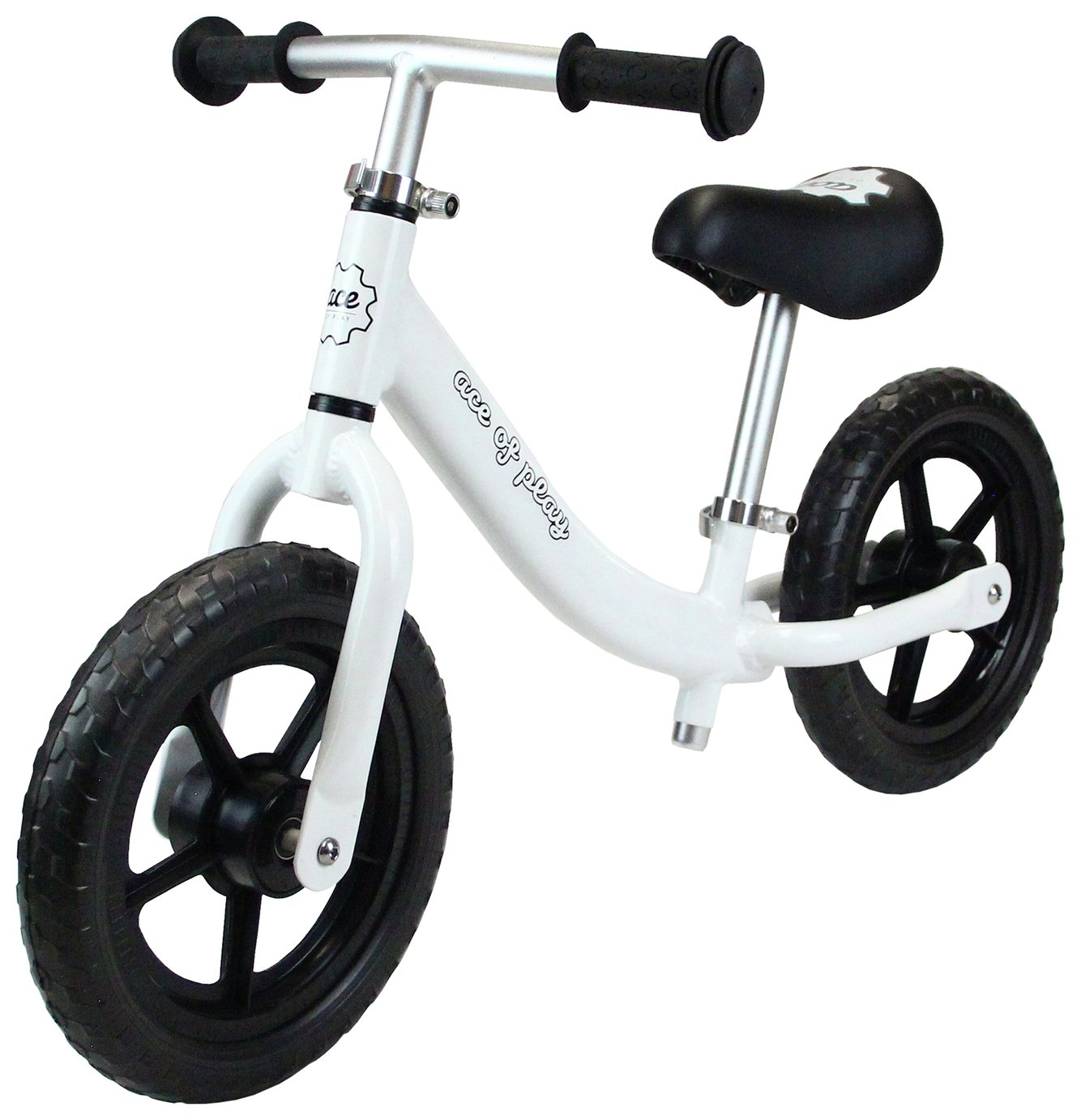 Image of Ace of Play Balance Bike - White.