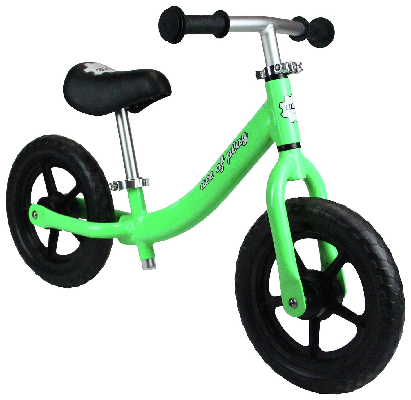 Image of Ace of Play Balance Bike - Green.