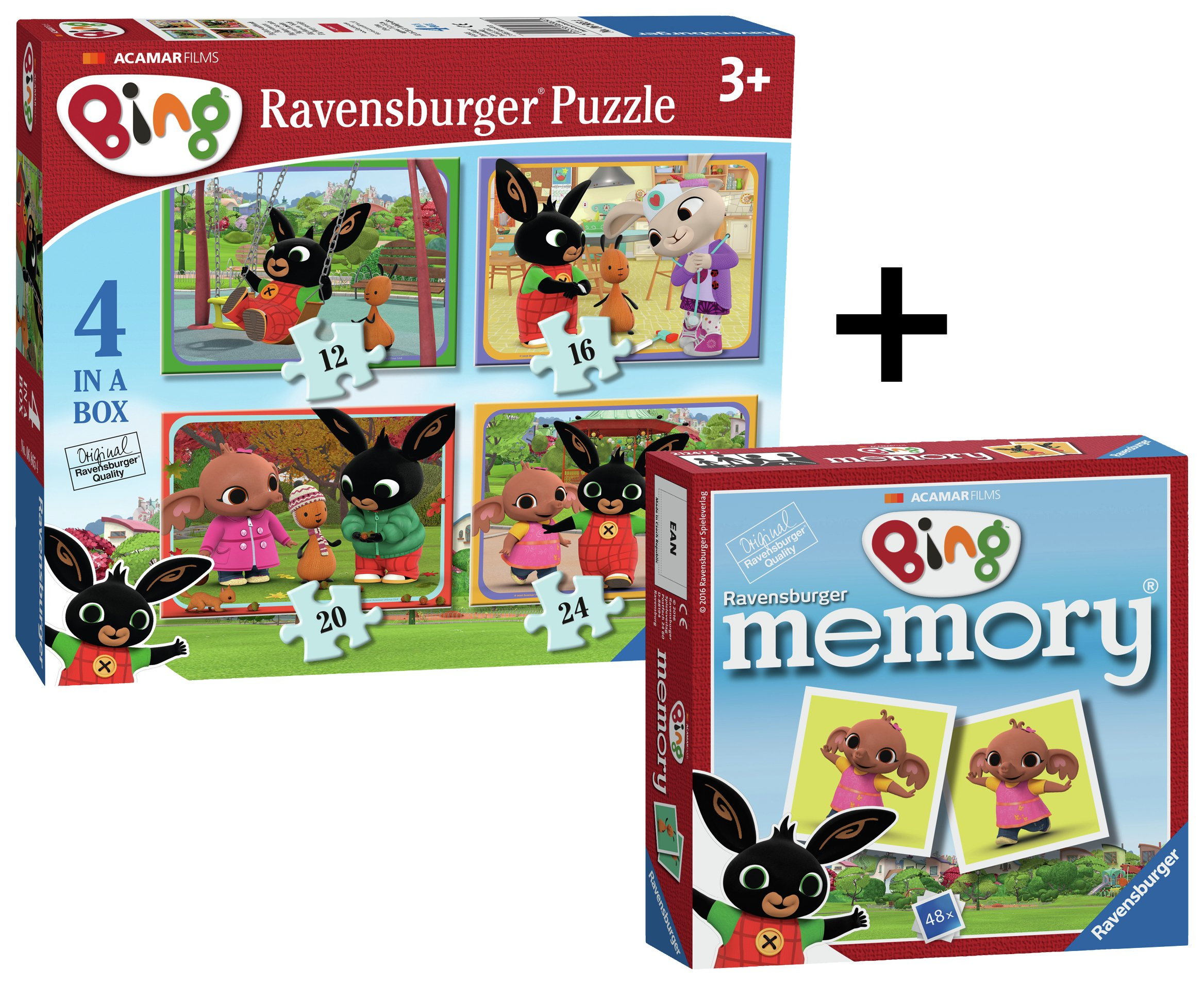 Image of Bing Bunny 4 In A Box And Min Mem - Game.