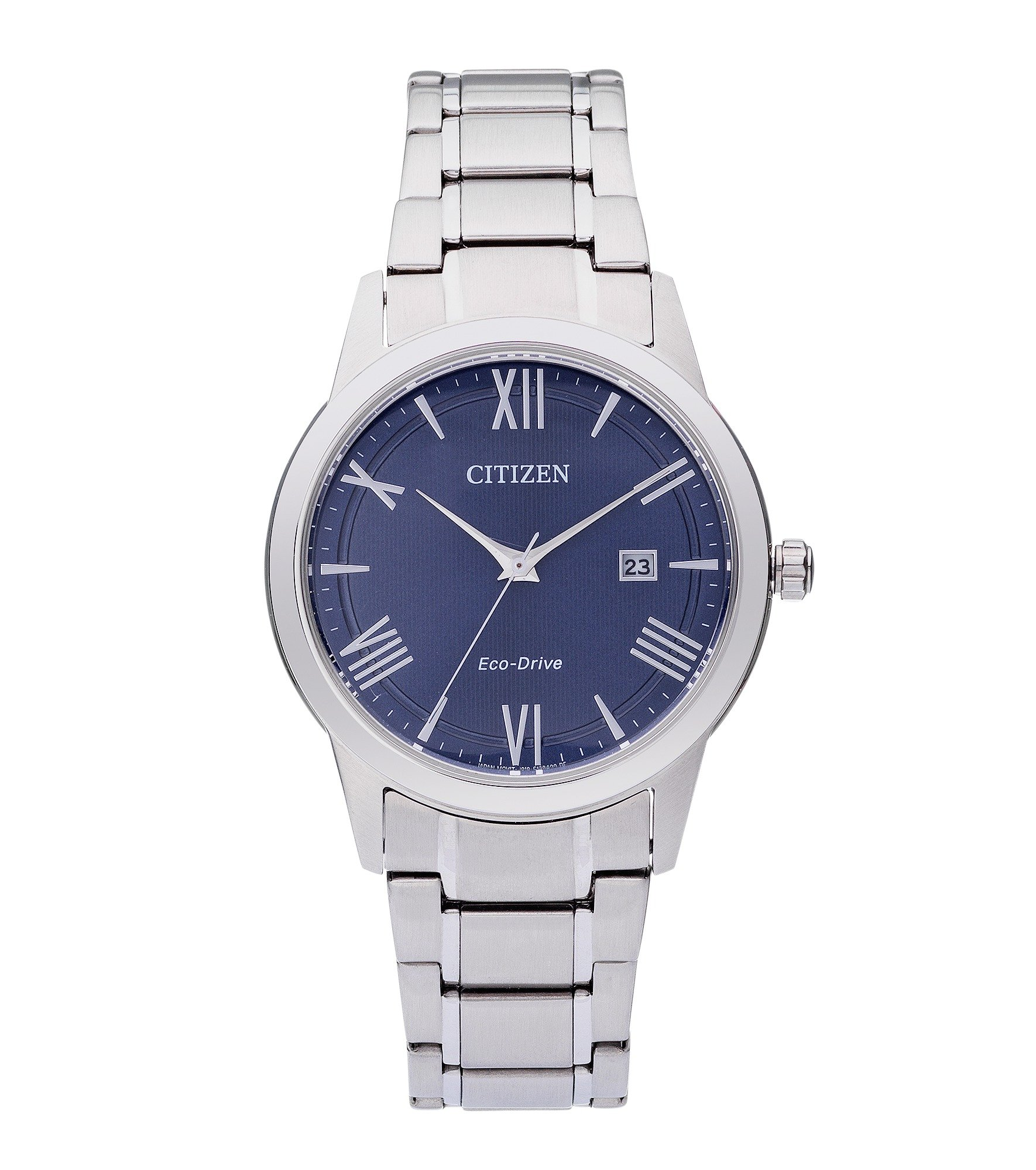 Citizen Men's Eco-Drive Blue Dial Watch