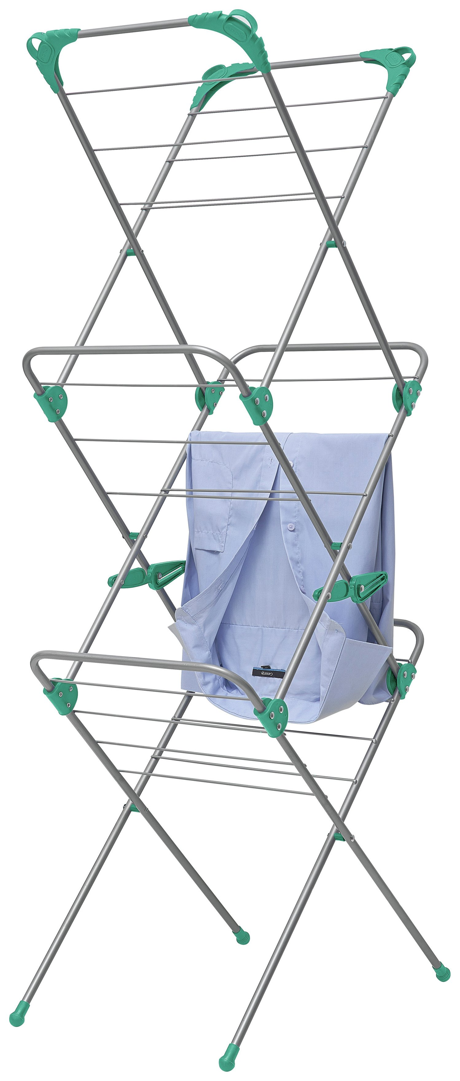 Image of Addis 10m Slimline 3 Tier Airer