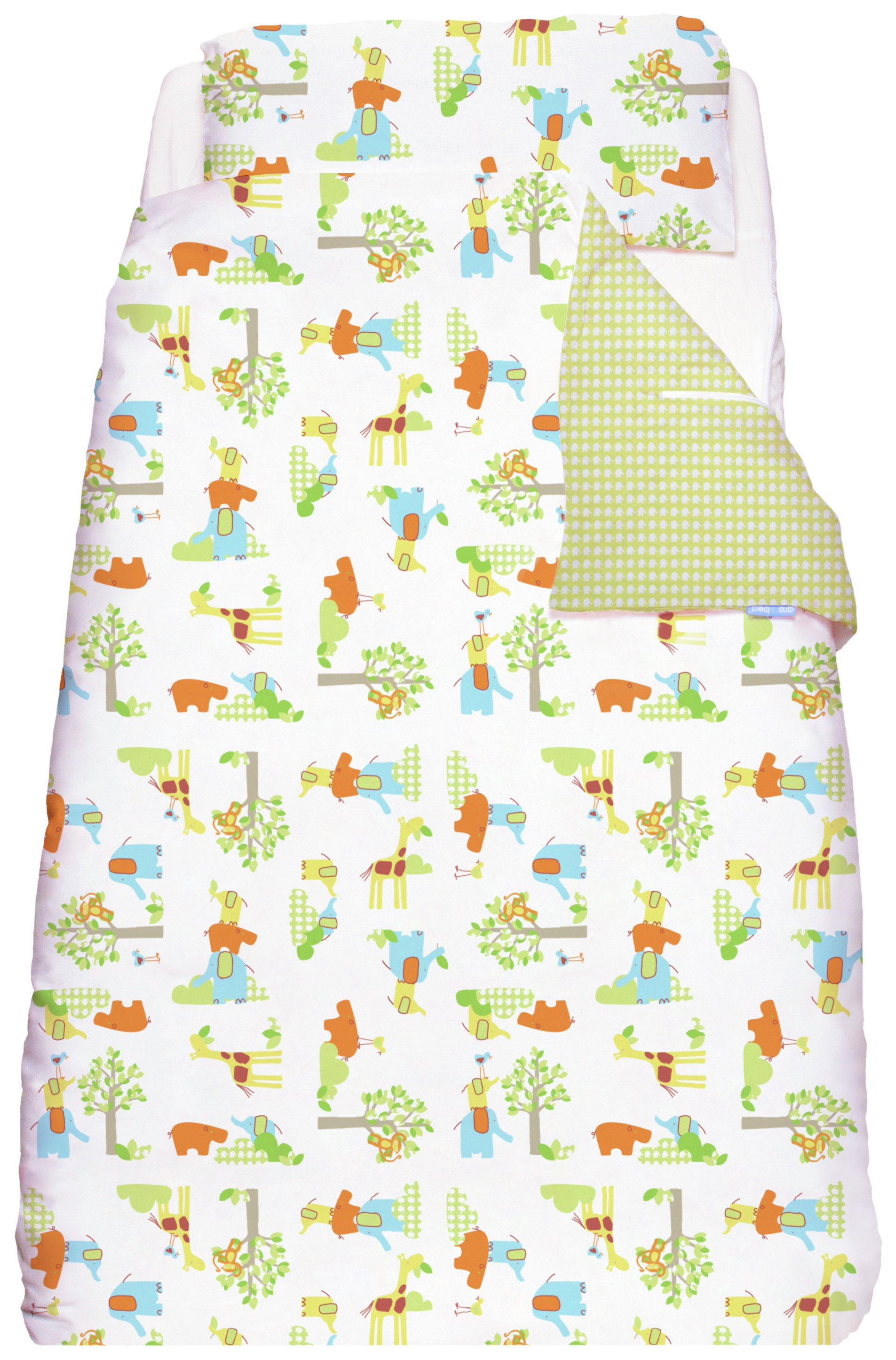 gro  to  bed  jolly jungle  cot  bedding