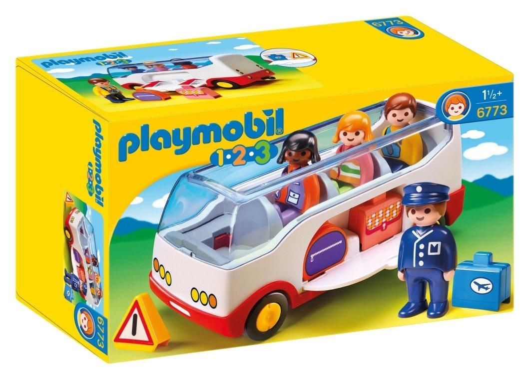 Playmobil 6773 123 Airport Shuttle Bus