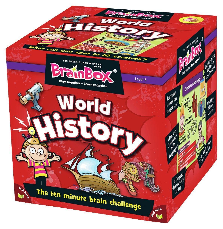 Image of BrainBox World History Game.