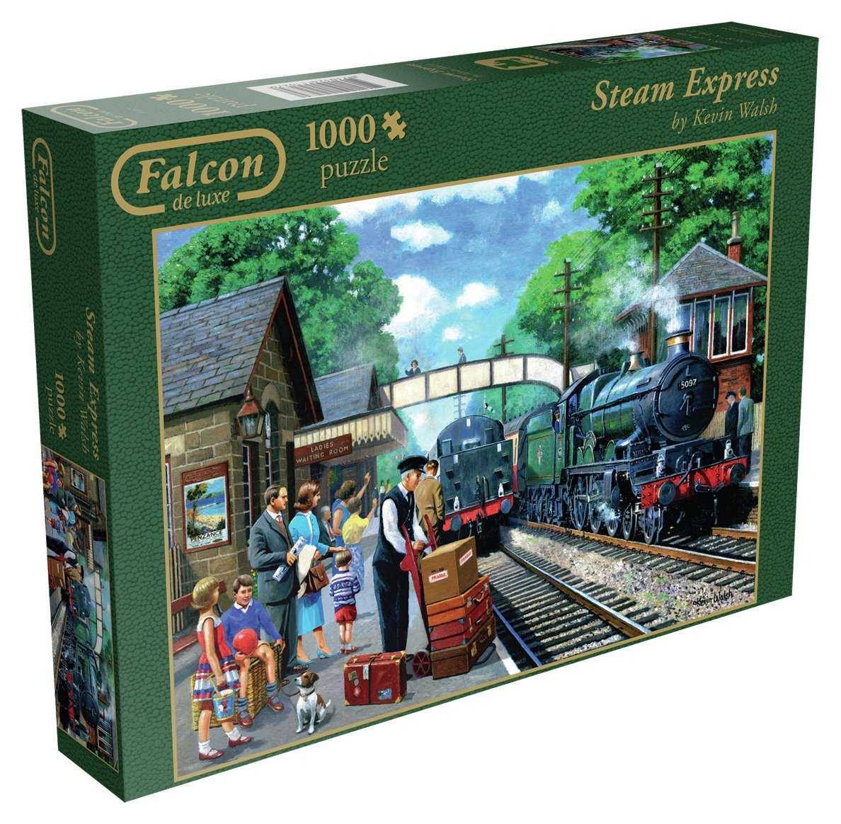 Falcon Deluxe Steam Express Jigsaw Puzzle.