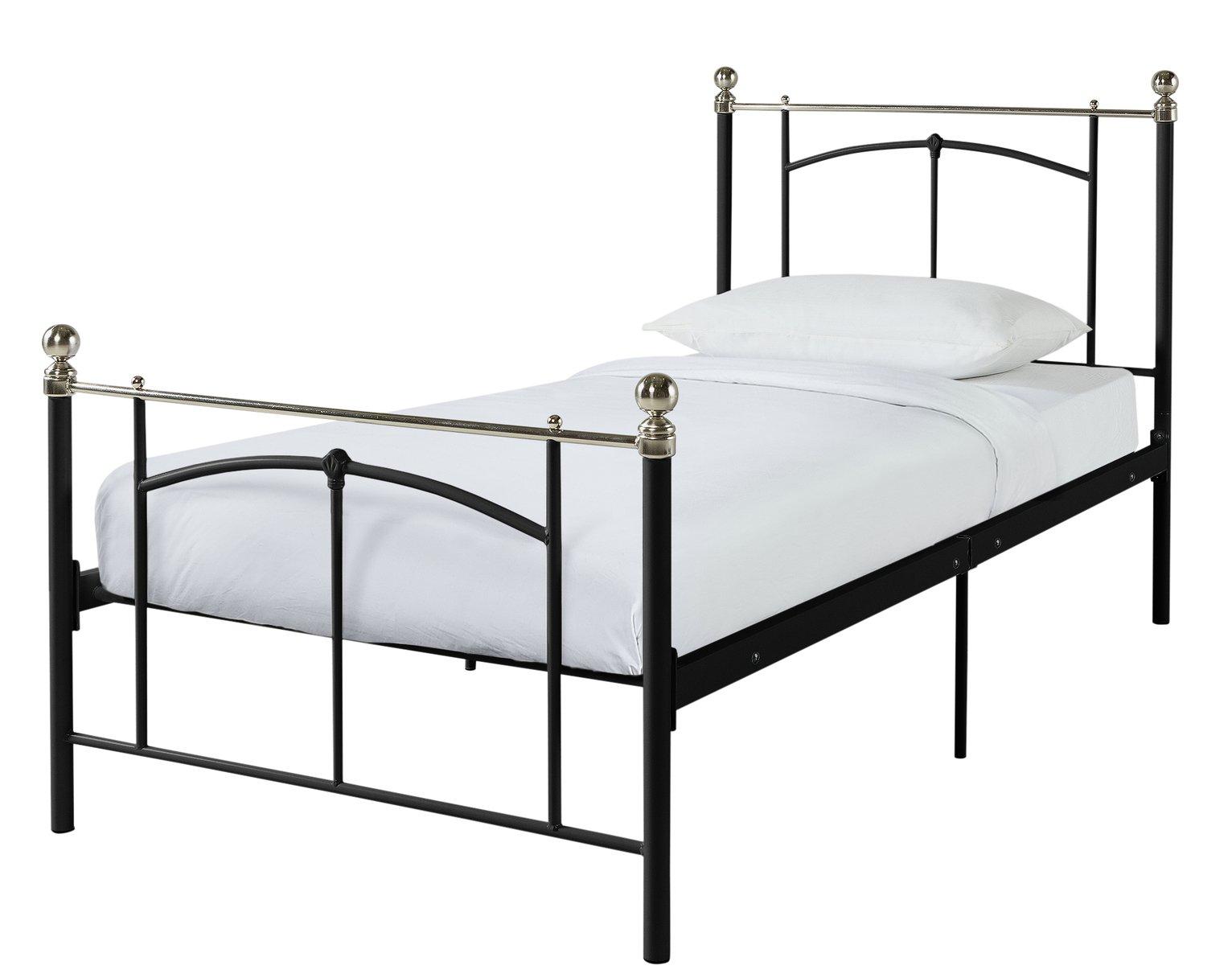 Argos Home Yani Single Bed Frame - Black