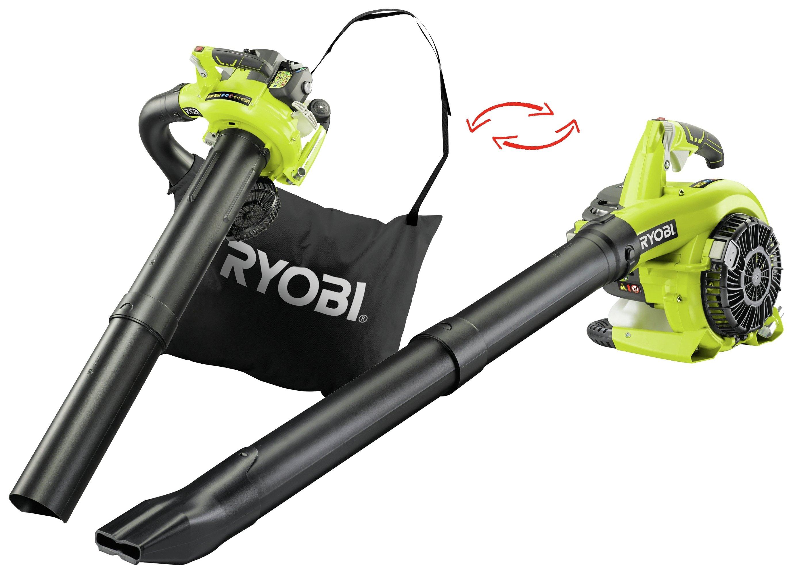 Ryobi - RBV26B Petrol Garden Vac - 26cc