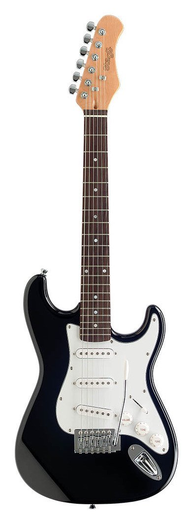 Stagg 3/4 Size Electric Guitar - Black
