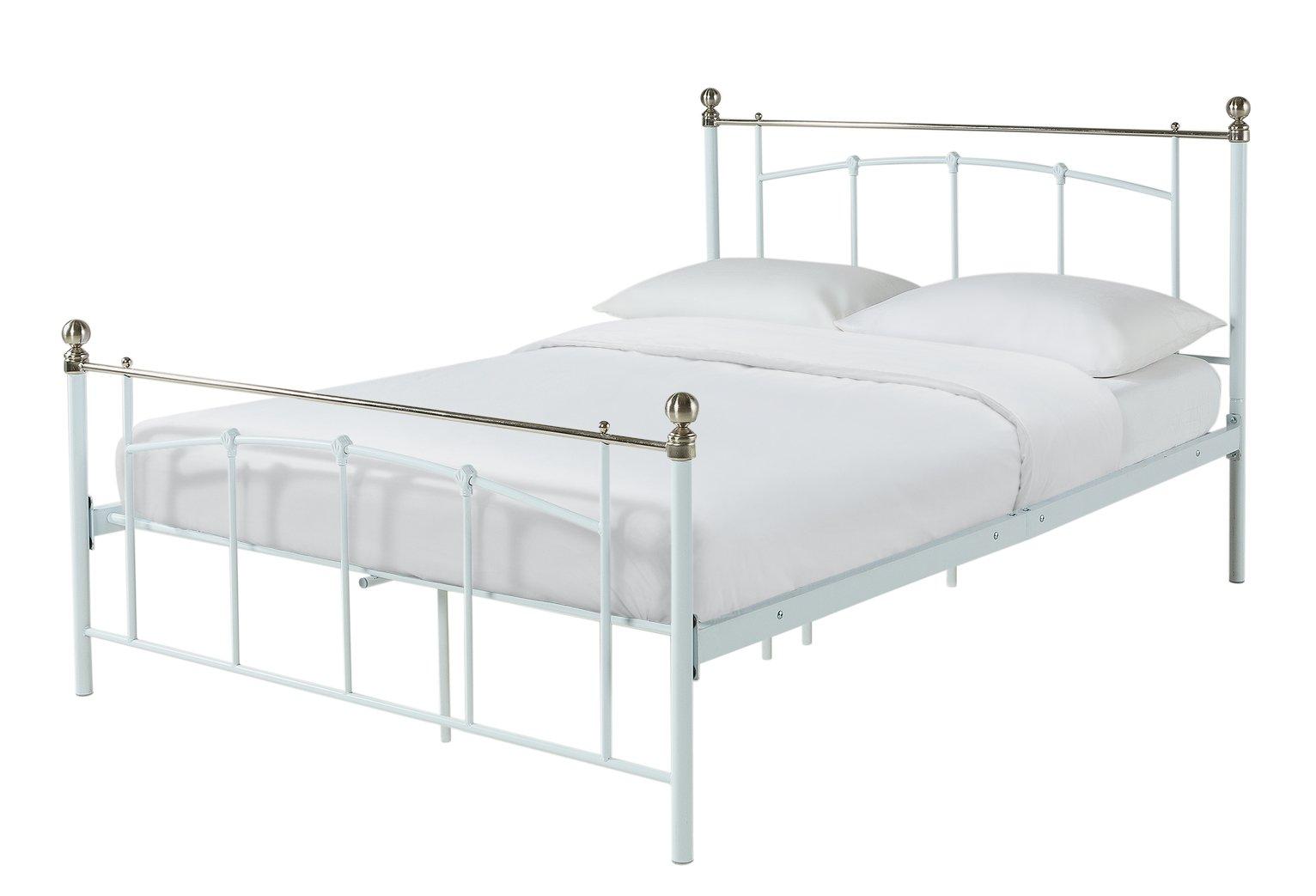 Argos Home Yani Kingsize Bed Frame - White