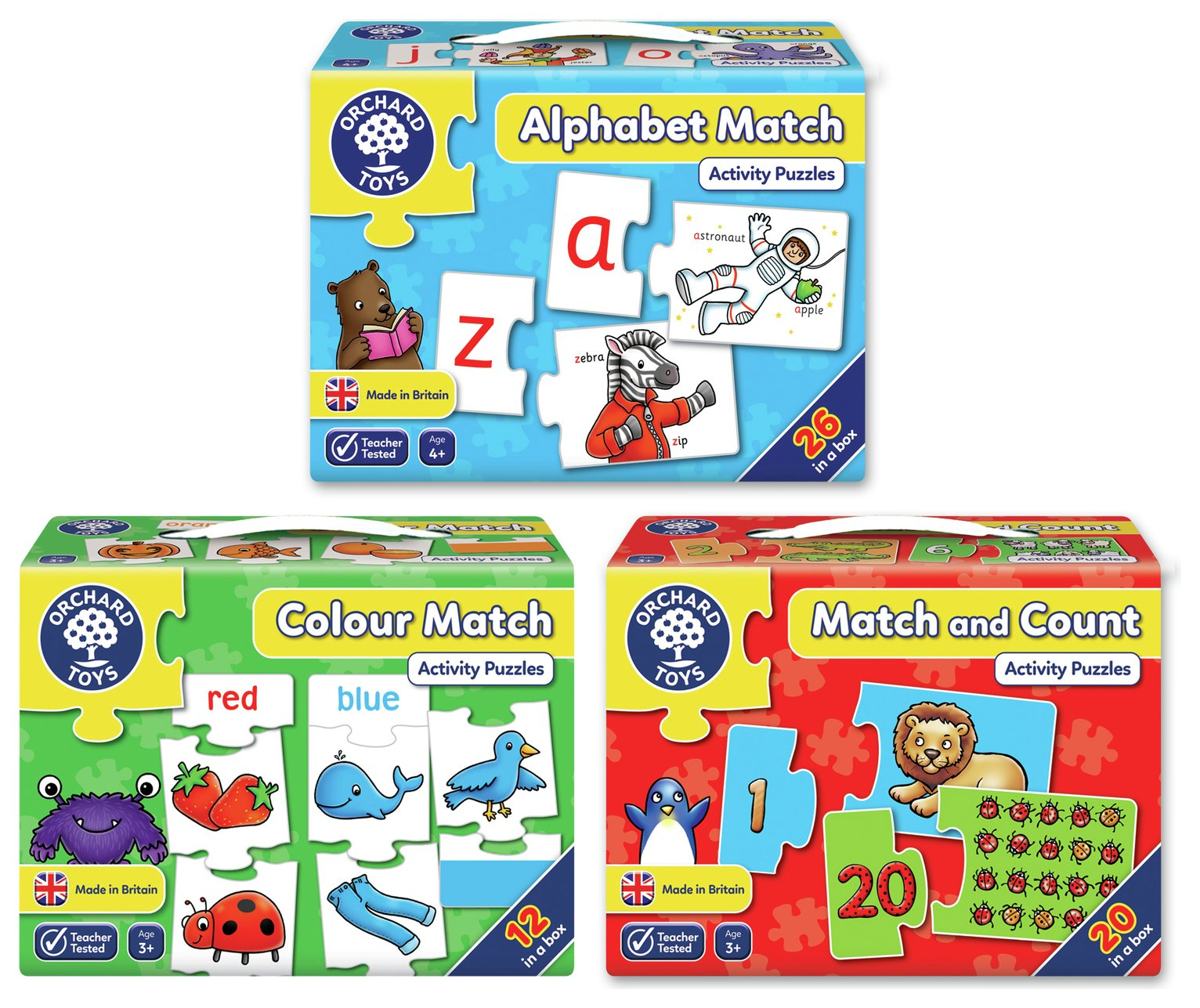 Orchard Toys Match Pack.