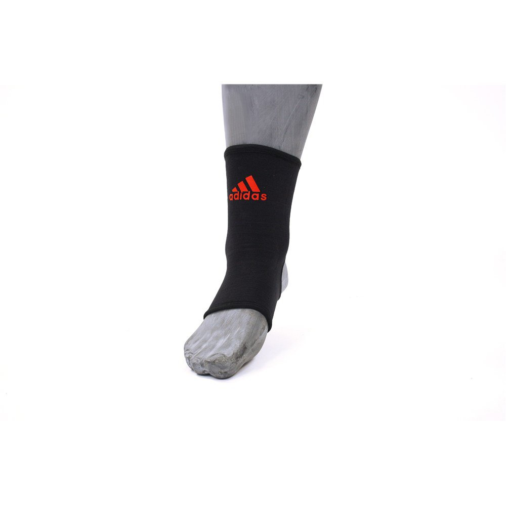 Image of Adidas Ankle Support Small - Black and Red.