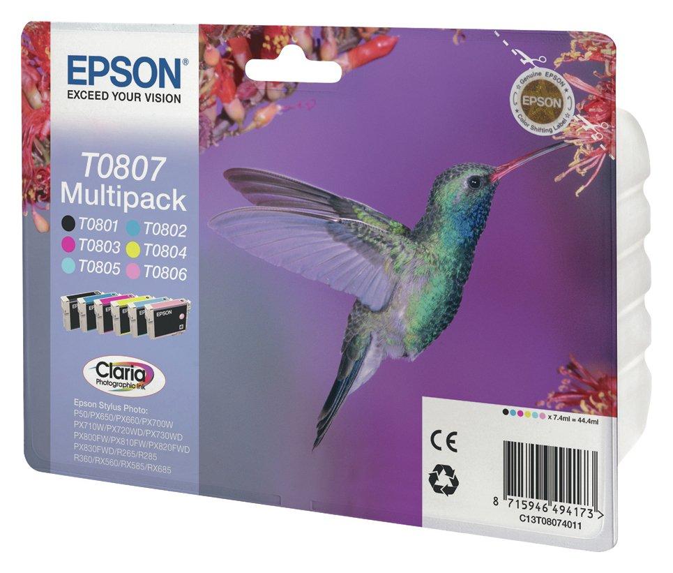 Epson Epson -   Hummingbird 6 Pack Printer Ink Cartridges
