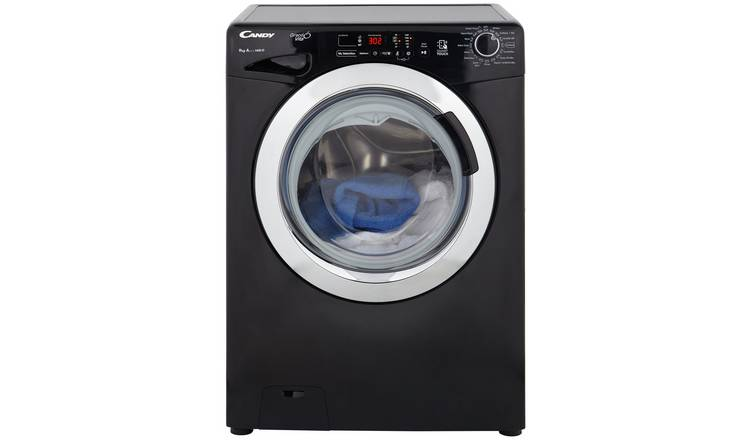 Candy GVS149DC3B 9KG 1400 Spin A+++ Washing Machine - Black