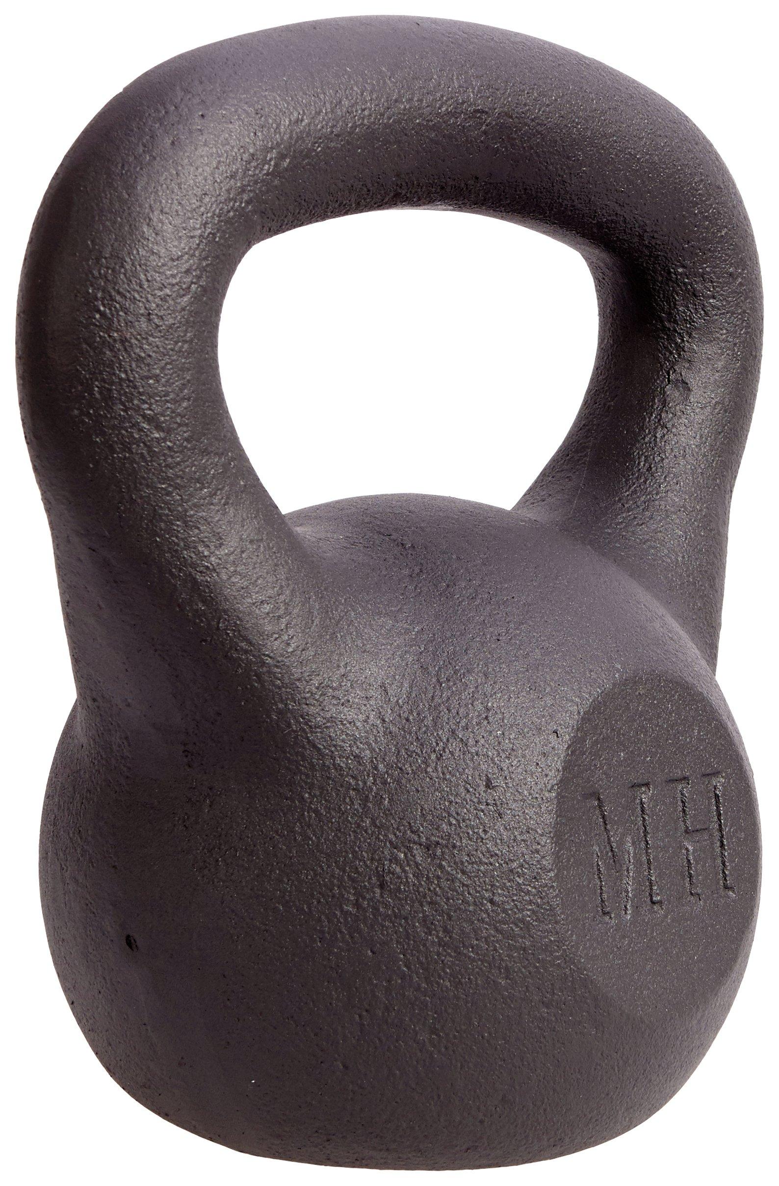 Men's Health Cast Iron Kettlebell 20kg