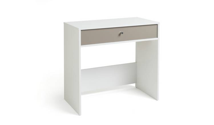 Habitat Compact Laptop Desk - White
