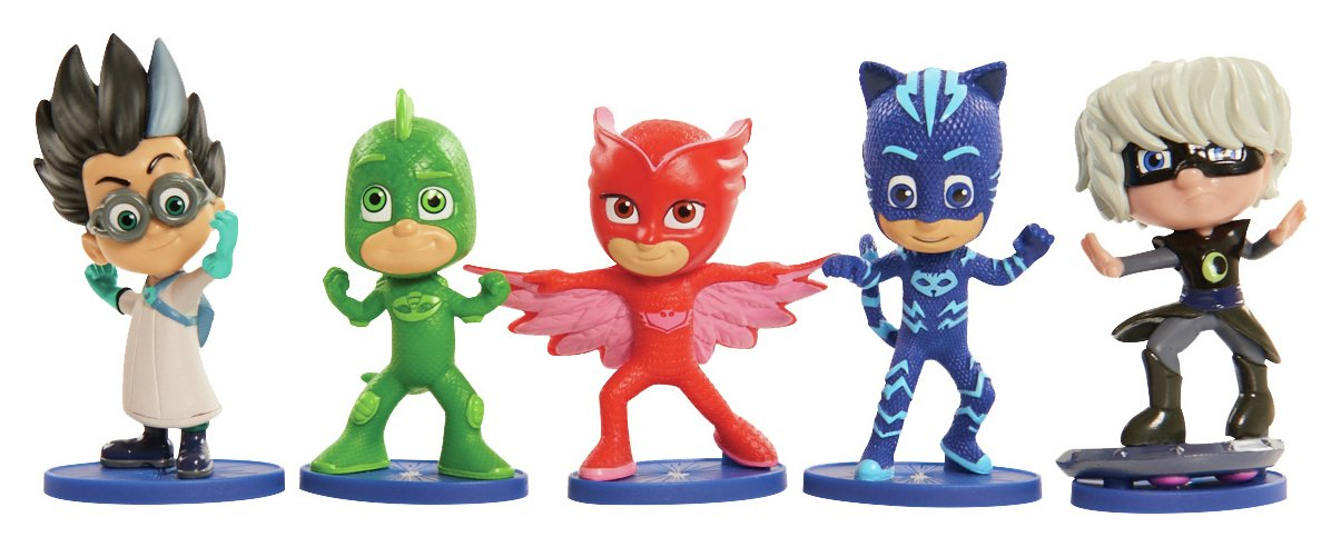 PJ Masks Collectable 3 inch Figures Assortment - Set of 5