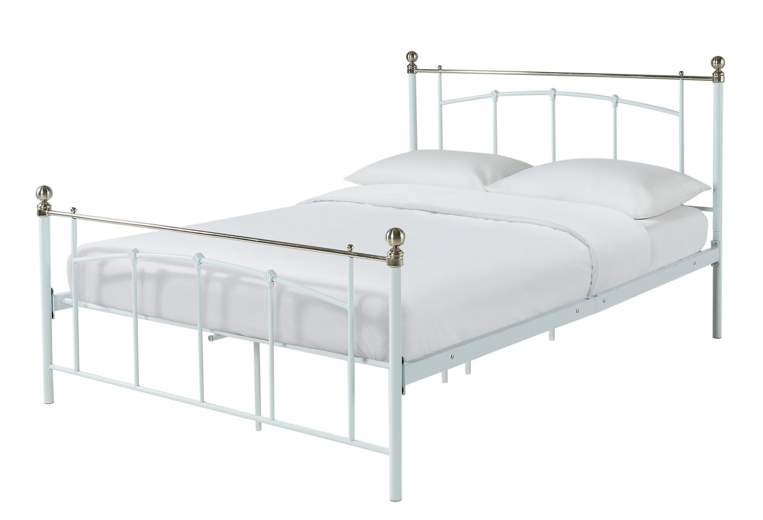 Argos Home Yani Double Bed Frame - White