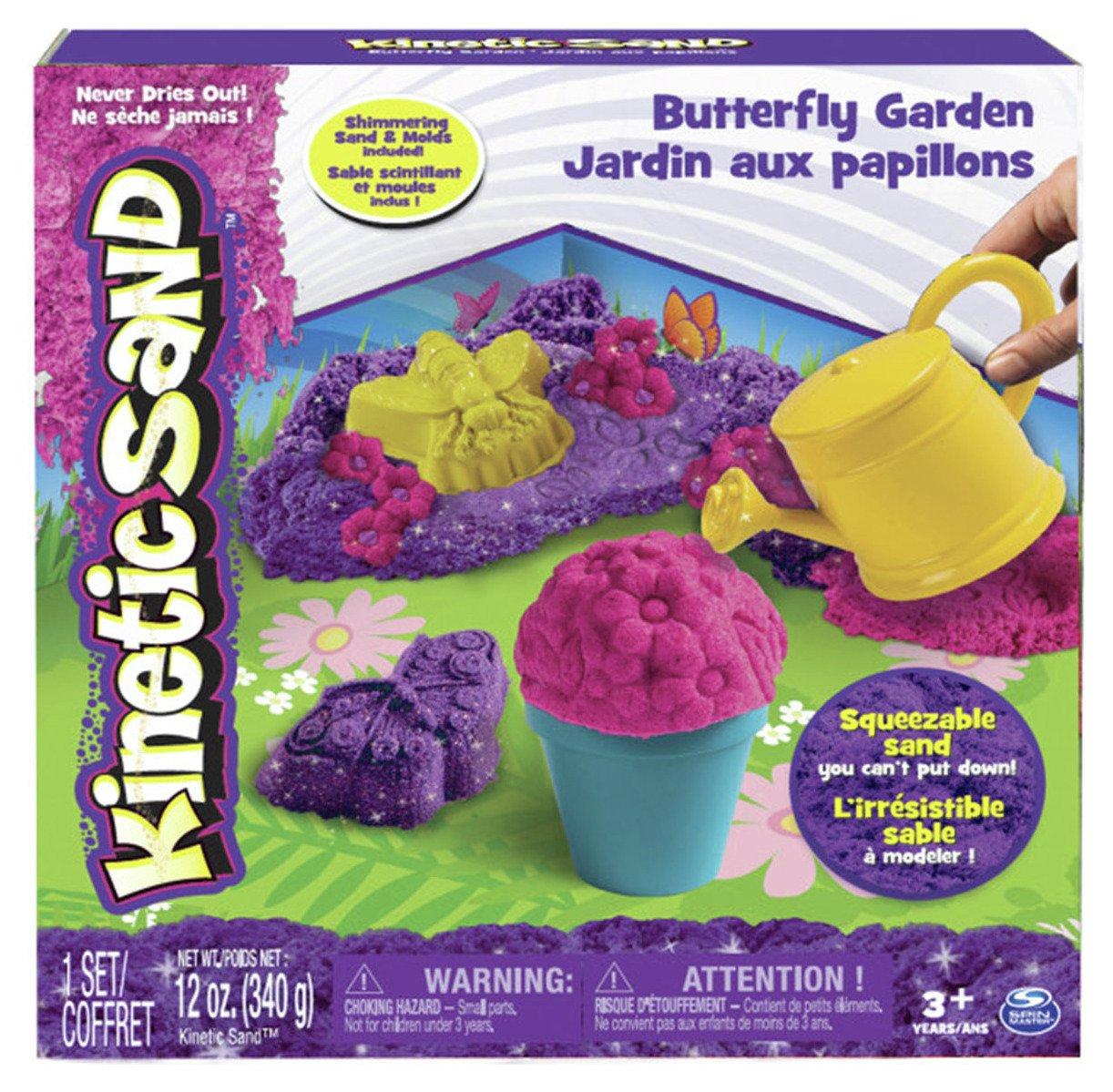 Kinetic Sand Butterfly Garden Set